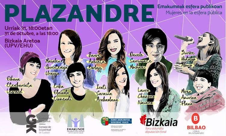 Zatoz #Plazandre topaketara! - Euskadiko Gazteriaren Kontseilua (EGK)