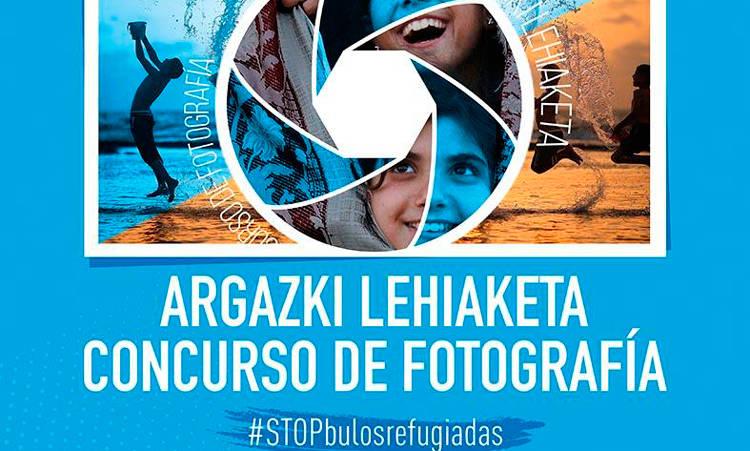 #STOPbuloerrefuxiatuak argazki-lehiaketa - UNRWA Euskadi