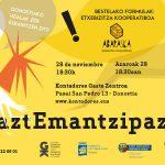 #GaztEmantzipazioa topaketa azaroaren 28an Donostian - Euskadiko Gazteriaren Kontseilua (EGK)