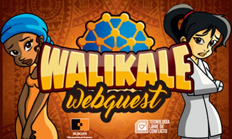 Walikale Webquest erronka otsailaren 16an! - Alboan