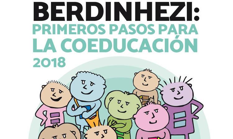 Presentamos el informe BerdinHezi: primeros pasos para la coeducación - Consejo de la Juventud de Euskadi (EGK)