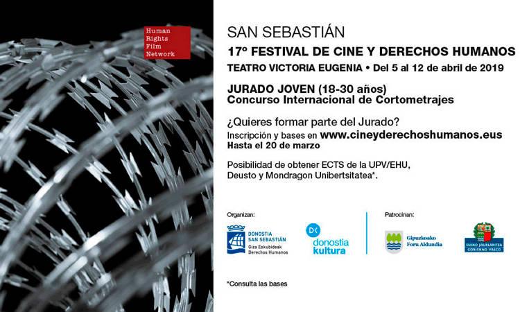 Abierto el plazo de inscripción para participar en el Jurado Joven del 17º Festival de Cine y DDHH