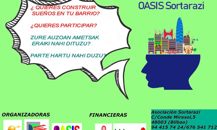 #OasisSortarazi: Parte-hartzera animatzen zara?