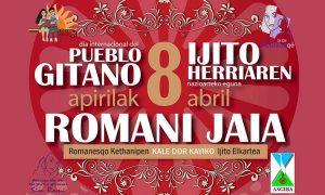 Apirilak 8: Ijito Herriaren Nazioarteko Eguna - 8 de abril: Día Internacional del Pueblo Gitano (Kale Dor Kayiko)