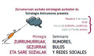Mintegia: Rumores, bulos y redes sociales' Maldita.es-en eskutik
