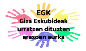 EGK gazteon ideologia politikoari eta identitateari lotuta dauden Giza Eskubide ororen urraketaren aurka