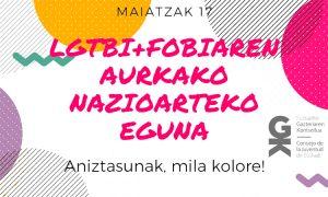 Aniztasunak, mila kolore! La diversidad, ¡mil colores! - Euskadiko Gazteriaren Kontseilua