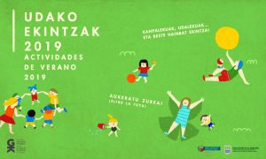 2019ko udarako astialdiko elkarteek antolatutakoaren informazioa. Información sobre las actividades de verano para 2019