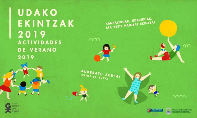 2019ko udako astialdiko elkarteek antolatutakoaren informazioa. Información sobre las actividades de verano para 2019