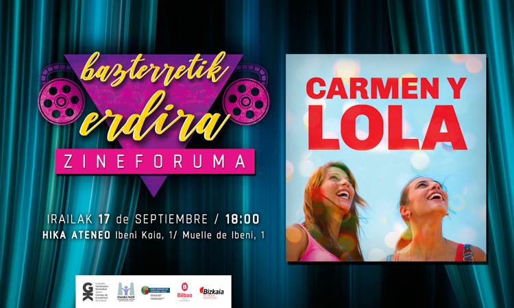 Carmen y Lola irailaren 17an Hika Ateneon. Carmen y Lola el 17 de septiembre en Hika Ateneo - Euskadiko Gazteriaren Kontseilua (EGK)