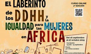 Abierta la inscripción para el curso onlineEl laberinto de los Derechos Humanos y la igualdad para las mujeres en África (II Edición)