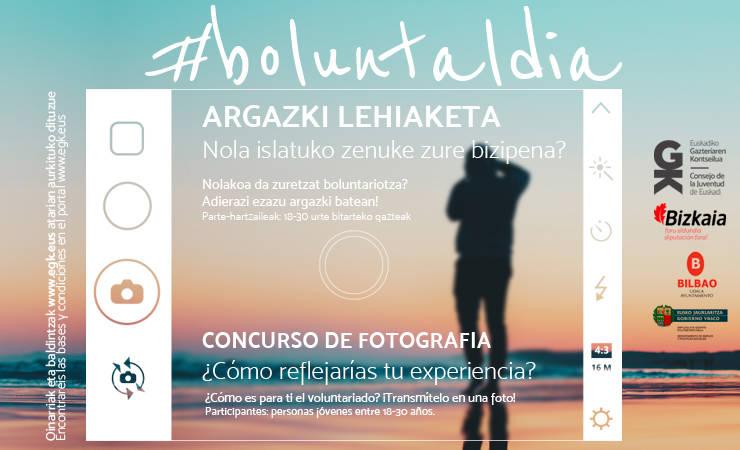 #Boluntaldia argazki-lehiaketa abian! ¡En marcha el concurso de fotografías #Boluntaldia! - Euskadiko Gazteriaren Kontseilua