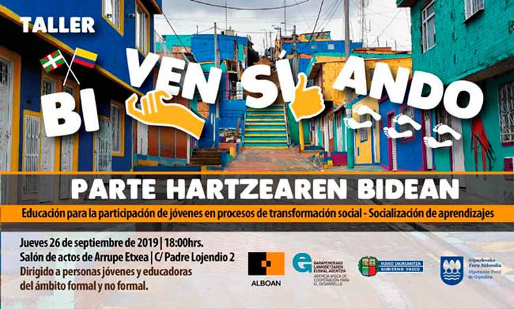 Taller BI-VEN-SI-ANDO y celebración final del Proyecto Parte Hartzearen Bidean