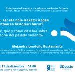 Alejandra Londoñoren hitzaldia abenduaren 11n Bilbon. Charla de Alejandra Londoño el 11 de diciembre en Bilbao - Euskadiko Gazteriaren Kontseilua (EGK)