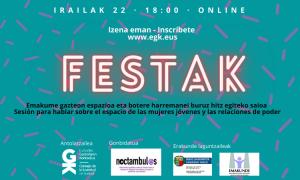 Jai eredua aztergai Noctambul@s-ekin irailaren 22an. Estudio del modelo festivo con Noctambul@s el 22 de septiembre - Euskadiko Gazteriaren Kontseilua (EGK)