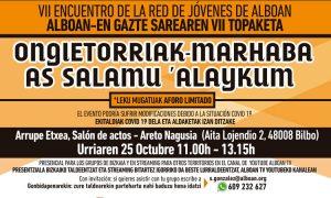 Gazte Sareko VII Topaketa urriak 25 - Alboan Elkartea GKE / VII Encuentro de la Gazte Sarea 25 de octubre - Alboan