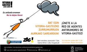 Gasteizko Zurrumurruen Aurkako Estrategia abian - La Estrategia AntiRumores de Vitoria-Gasteiz en marcha