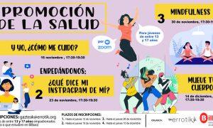 Talleres de promoción de la salud con perspectiva de género