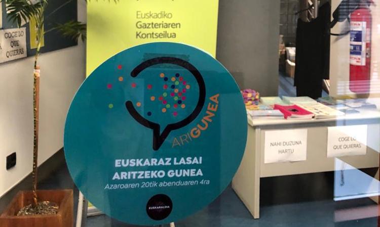 Arigune izango gara aurten EGKn 15 egunez #Euskaraldia. Arigune los siguientes 15 días en la dinámica Euskaraldia - Euskadiko Gazteriaren Kontseilua (EGK)