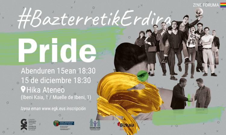 Pride filma abenduaren 15ean Hika Ateneon. Pride el 15 de diciembre en Hika Ateneo - Euskadiko Gazteriaren Kontseilua (EGK)